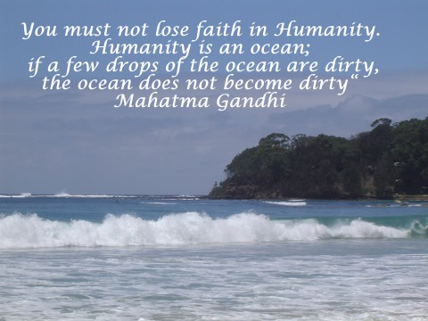 Gandhi - Faith in Humanity