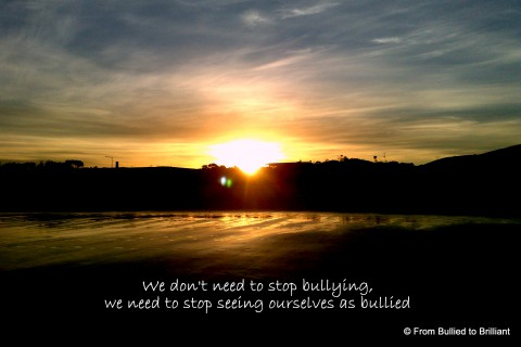 Seeing ourselves as bullied